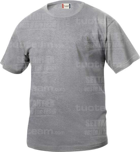 029032 - T-SHIRT Basic T Junior - 95 grigio melange