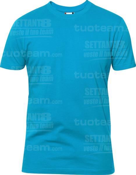 029340 - T-SHIRT Premium-T Mens - 54 turchese