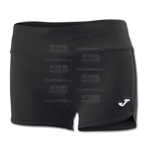 900463 - SHORT STELLA II 100% polyester interlock - 100 NERO