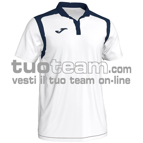 101265 - CHAMPIONSHIP V POLO 100% polyester interlock - 203 BIANCO / DARK NAVY