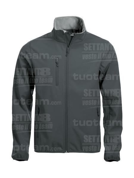 020910 - GIACCA Basic Softshell Jacket Men - 96 canna di fucile