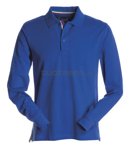 LONG-NATION - POLO LONG-NATION - BLU ROYAL/ITALIA