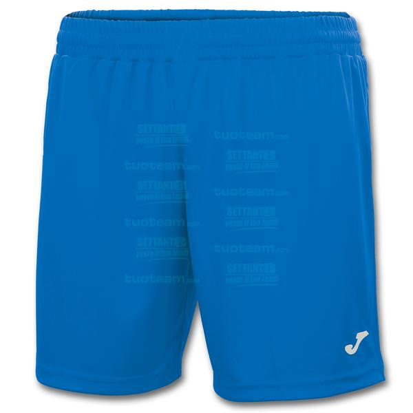 100822 - TREVISO SHORT 100% polyester interlock - BLU ROYAL
