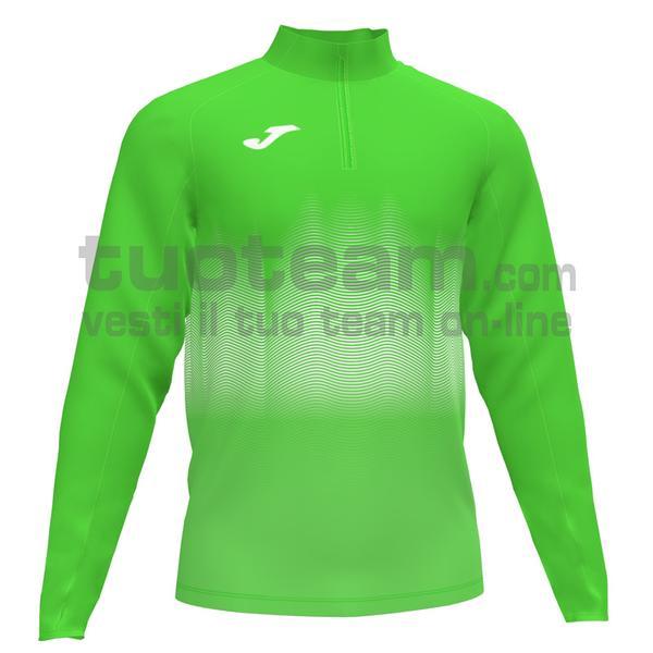 101541 - ELITE VII FELPA 90% polyester 10% fleece elastane - 020 VERDE FLUOR