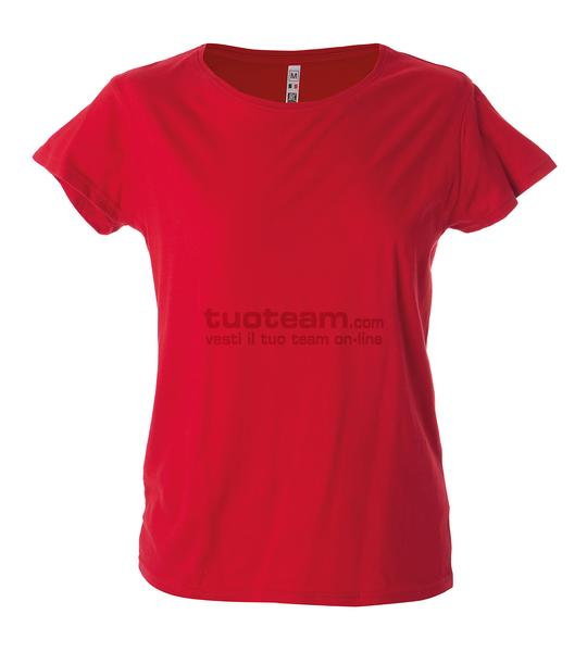 99093 - T-Shirt Argentina Lady - ROSSO
