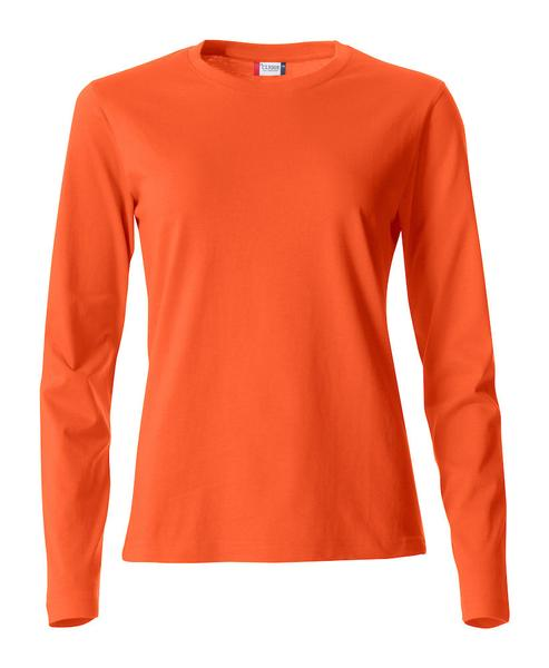 029034 - Basic-T Long Sleeve Lady - 18 arancione
