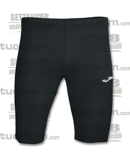100042 - RECORD BERMUDA TIGHT 100% polyester interlock - NERO