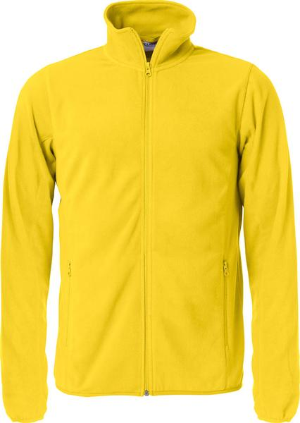 023914 - BASIC MICRO FLEECE JACKET - Giacca in micropile - 10 giallo limone