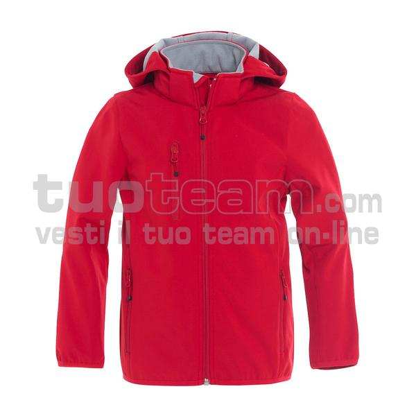 020909 - Basic Softshell Jacket Junior - 35 rosso