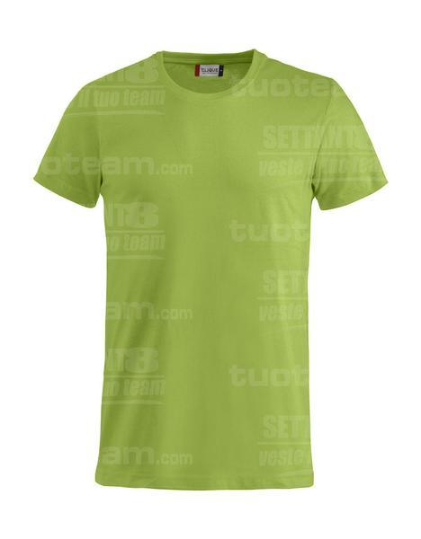029030 - Basic-T T-SHIRT - 67 verde mela