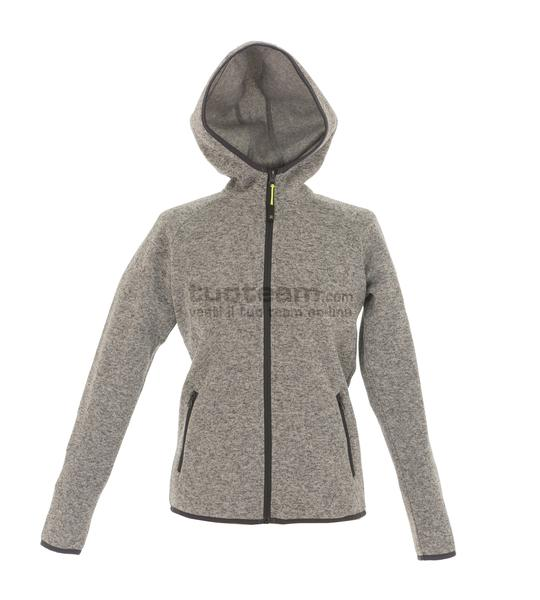 99192 - Knitted Fleece Quebec Lady - LIGHT GREY
