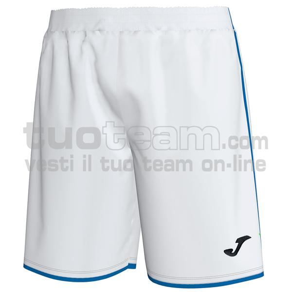101324 - SHORT LIGA 100% polyester interlock - 207 BIANCO / ROYAL