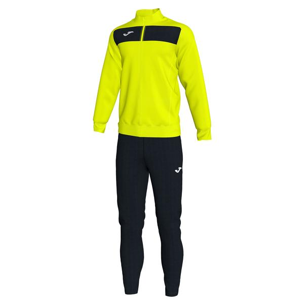 101352 - ACADEMY III TUTA 100% polyester fleece - 061 GIALLO FLUO/NERO