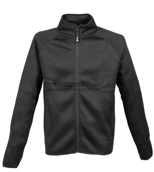 99260 - Knitted Fleece Leichester - DARK GREY