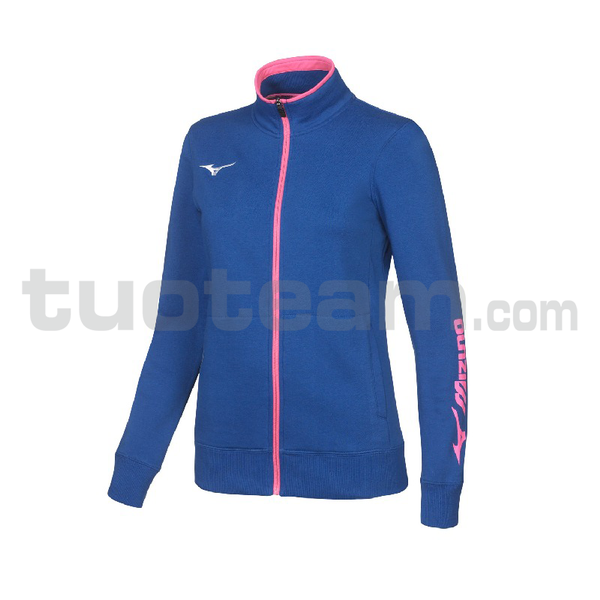 32EC7209 - Sweat FZ giacca W - Royal/White