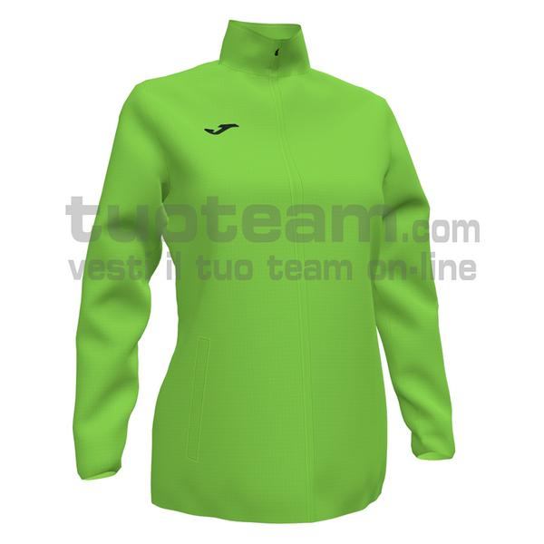 901065 - ELITE VII WOMAN WINDBREAKER 100% polyester - 020 VERDE FLUOR