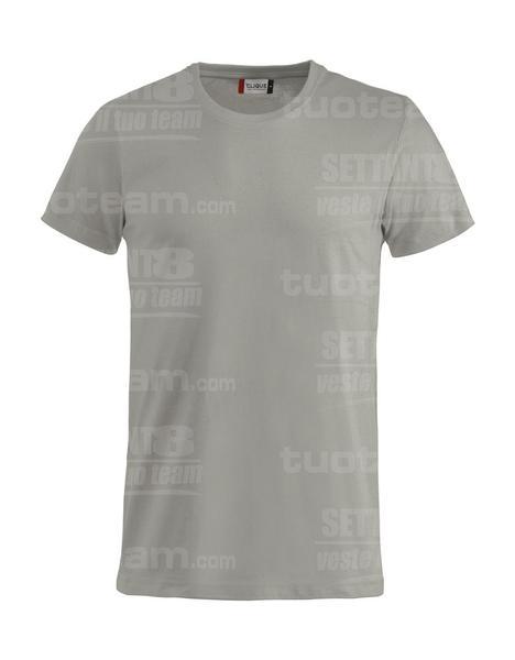 029030 - Basic-T T-SHIRT - 94 grigio argento