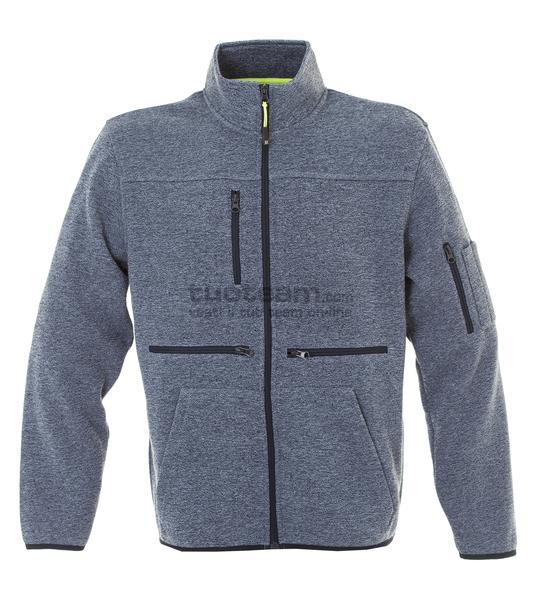 99179 - Knitted Fleece Hannover - LIGHTBLUE