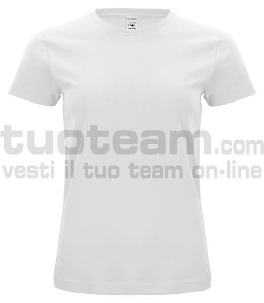 029365 - Organic Cotton T-shirt Lady - 00 bianco