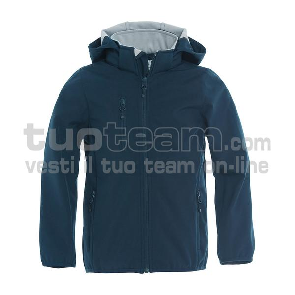 020909 - Basic Softshell Jacket Junior - 580 blu
