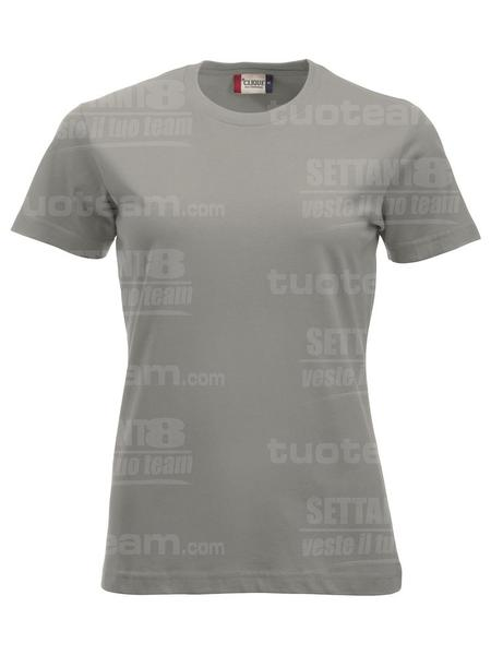 029361 - T-SHIRT New Classic T Lady - 94 grigio argento