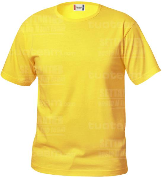 029032 - T-SHIRT Basic T Junior - 10 giallo limone