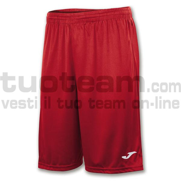 101648 - NOBEL LONG SHORT 100% polyester interlock 160 gr. - 600 ROSSO