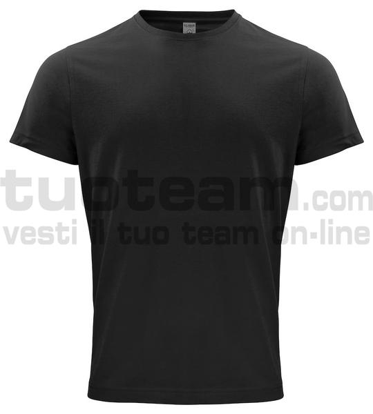 029364 - Organic Cotton T-shirt - 99 nero
