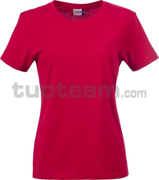 029031 - Basic-T T-SHIRT Lady - 35 rosso