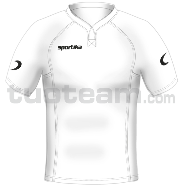 3022M - maglia rugby CORK - BIANCO