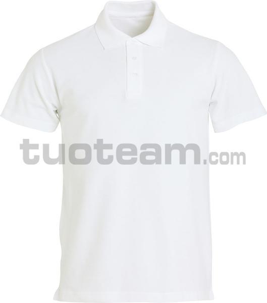 028230 - polo basic - 00 bianco