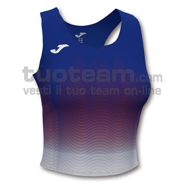 901018 - ELITE VII WOMAN TOP 90% polyester 10% elastane - 722 ROYAL