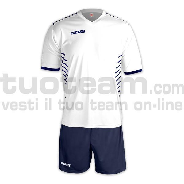 AH08 - Kit Chelsea - WHITE/NAVYBLUE