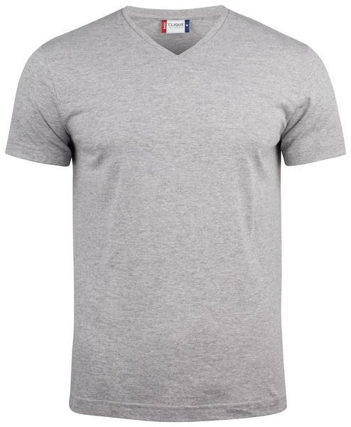 029035 - Basic-T V-neck - 95 grigio melange
