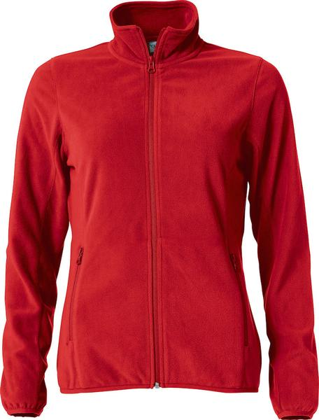 023915 - Basic Micro Fleece Jacket Lady - 35 rosso
