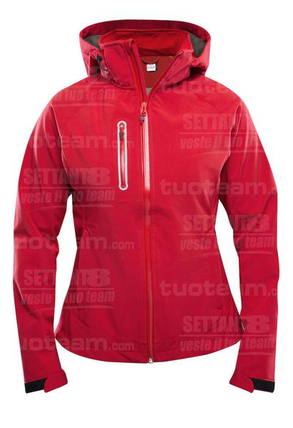 020928 - GIACCA Milford Jacket Ladies - 35 rosso