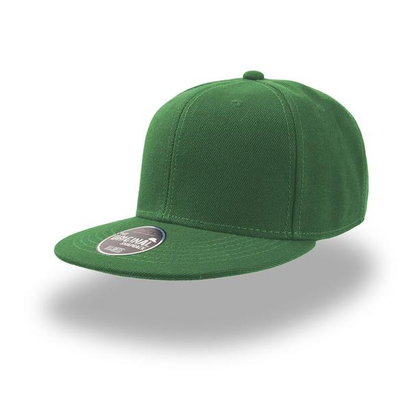 ATSNAP - CAPPELLINO Snap Back 6 pannelli - VERDE