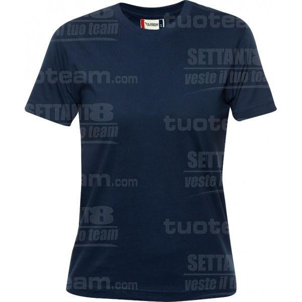 029341 - T-SHIRT Premium-T Lady - 580 blu
