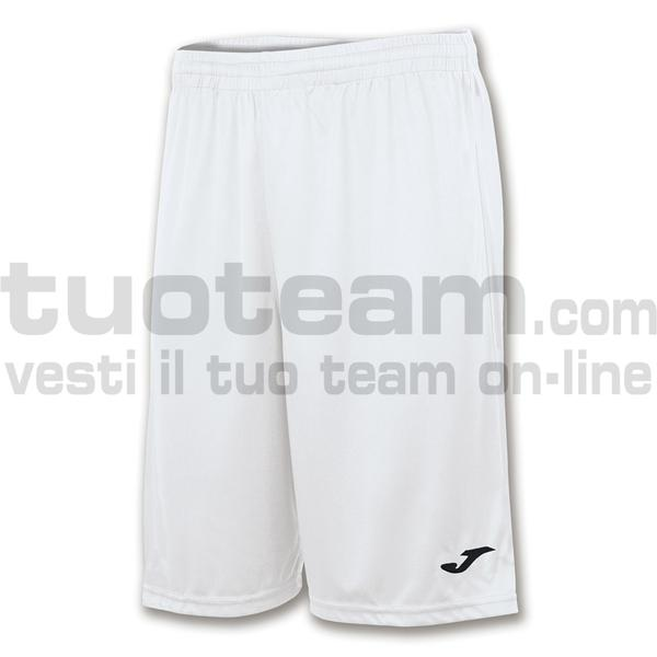 101648 - NOBEL LONG SHORT 100% polyester interlock 160 gr. - 200 BIANCO