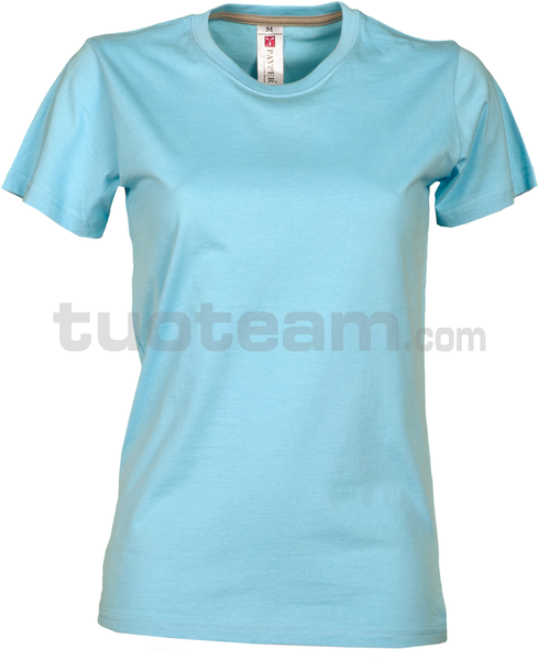 SUNRISE LADY - SUNRISE LADY t shirt - AZZURRO