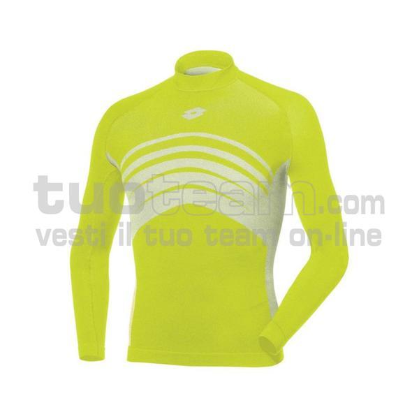 L49533 - UND TEE LS SML - giallo fluo
