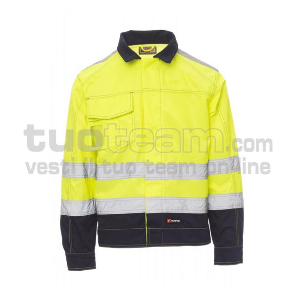 SAFE HI-VI WINTER - SAFE HI-VI WINTER SATIN FUSTAGNO 295GR 20%COTONE - GIALLO FLUO