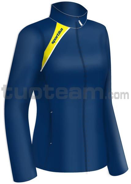 7260 - giacca PANAMA - BLU / GIALLO / BIANCO