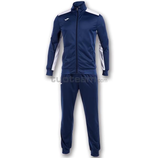 101096 - ACADEMY TUTA 100% polyester tricot - 302 NAVY / BIANCO