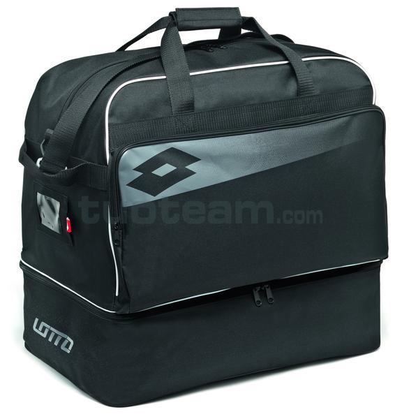 L53087 - BAG SOCCER OMEGA II - nero / grigio / bianco