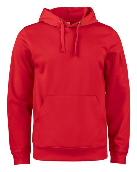 021011 - Basic Active Hoody - 35 rosso