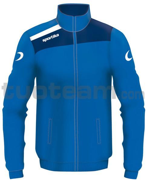 7245 - giacca NEST - AZZURRO / BLU / BIANCO