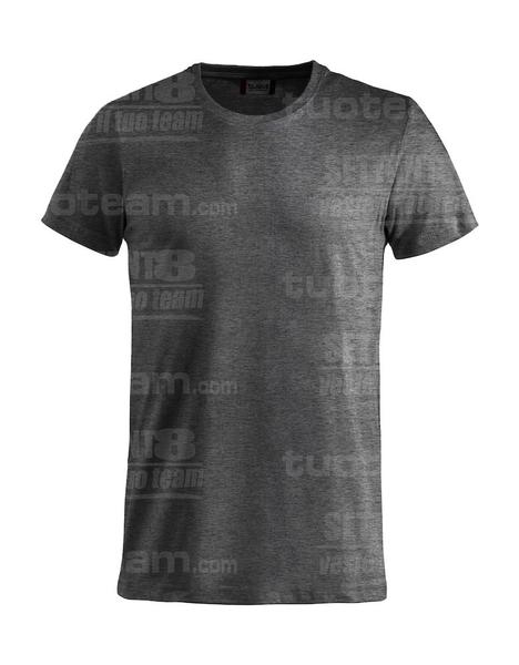 029030 - Basic-T T-SHIRT - 955 antracite melange