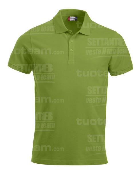 028244 - POLO New Classic Lincoln S/S - 67 verde mela
