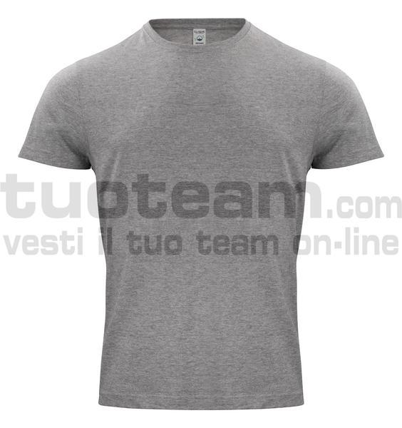 029364 - Organic Cotton T-shirt - 95 grigio melange
